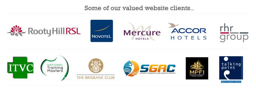 Valued website clients